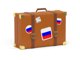 russia travel suitcase 256