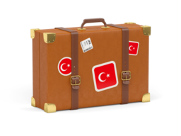 turkey travel suitcase 256